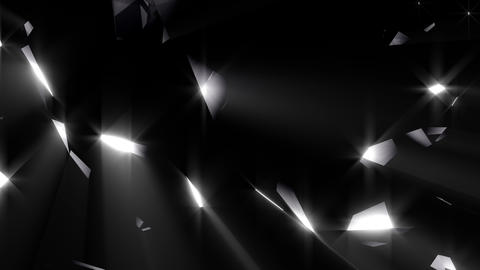 Black shining diamond Animation