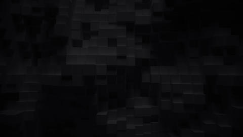 Abstract geometric cubes loop background- 3D animation Animation