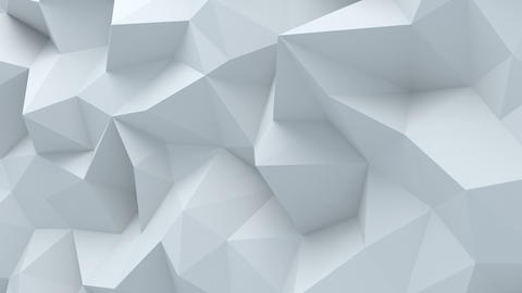 Abstract polygonal background loopable Animation