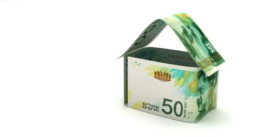 Real Estate with New Israeli Shekel Animation