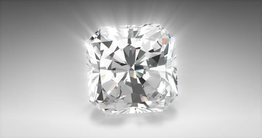 Radiant Cut Diamond Animation