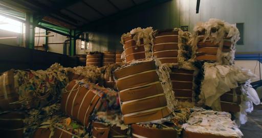Scrap bundles in scrapyard 4k Live Action