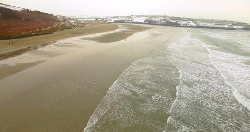 Aerial view of sea 4k Footage