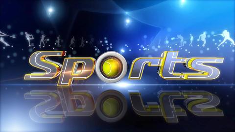 Sports loop Animation