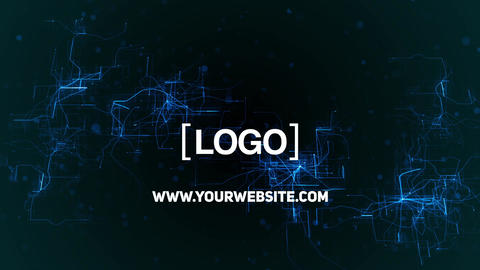 Grid Logo After Effects Template