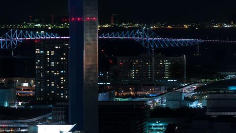 Timelapse of Tokyo at night GIF