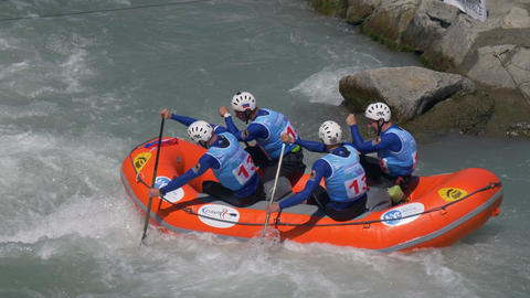 Rafting Training Men Russian Federation Live Action