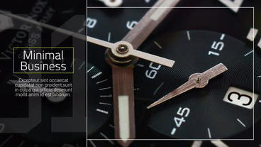 Minimal Business - Slideshow After Effects Template