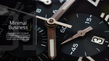 Minimal Business - Slideshow Premiere Pro Template