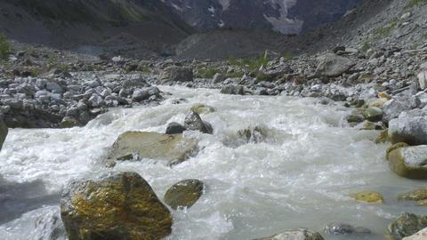 A beautiful mountain river GIF