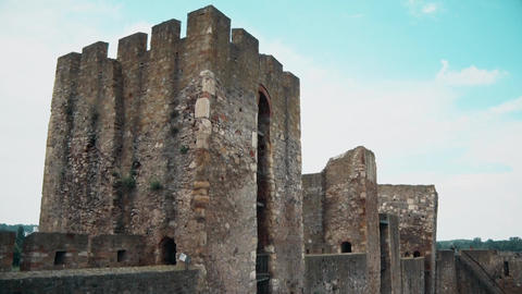 Old Fortress from the Middle Ages, Three Watchtowers Footage