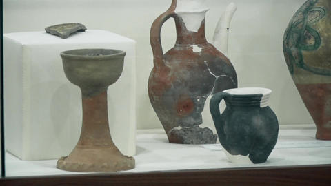 Old Vases from the Middle Ages Footage