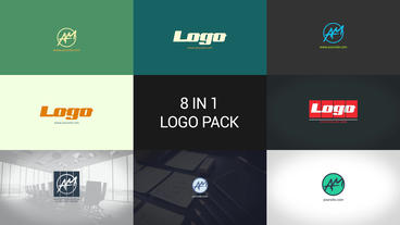 Minimal Logo Pack Premiere Pro Template