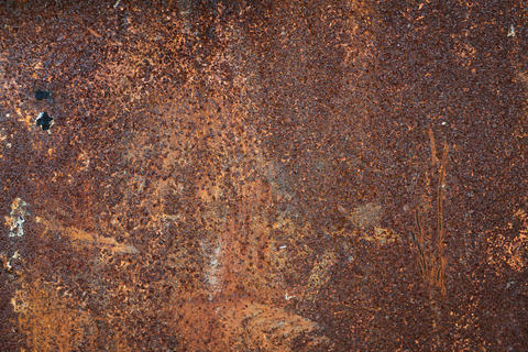 Dark rusty metal texture background Photo