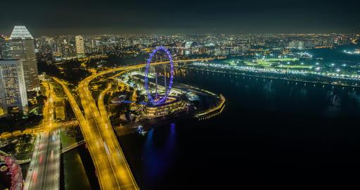 Singapore ferris wheel Live影片
