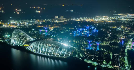 Singapore Timelapse view Live Action