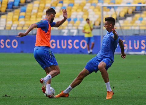 Training session of Ukraine National Football Team in Kyiv Photo