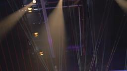 Laster Stage Light Beams Footage
