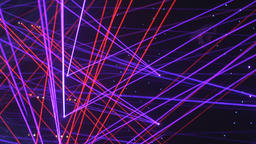 Wild Laser Beams of Red, Green, and Purple Footage