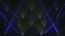Triangular Projection of Lights Live Action