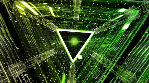 Hi-tech tunnel motion graphics background 0049 Animation