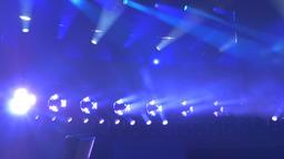 Various Stage Lighting on Display Footage