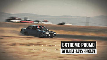 Extreme Promo After Effects Template