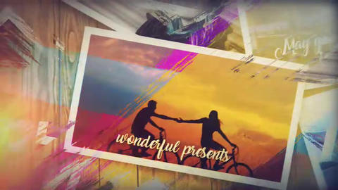Lovely Brush Memory After Effects Template