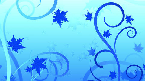 Floral Filigree Winter Animation