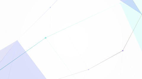 Cg Generated 3D Abstract Geometry Abstraction Motion Stock Video Footage