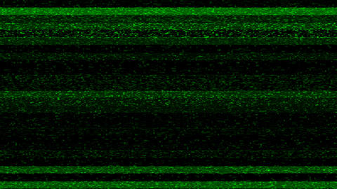 Green Flickering Noise Digital Grunge Glitch Video Damage Animation