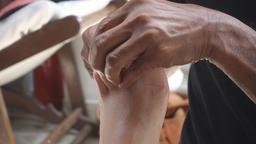 Thai Foot Massage Footage