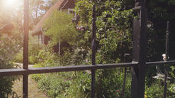 Idyllic Dutch House and Garden Footage