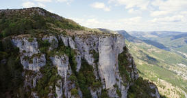 Gorges du Tarn Precipice and Valley Vista Live Action