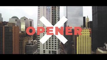 Urban Grunge Opener Premiere Proテンプレート