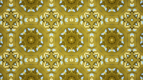 Animated abstract vintage floral texture wallpaper. 3D... Stock Video Footage