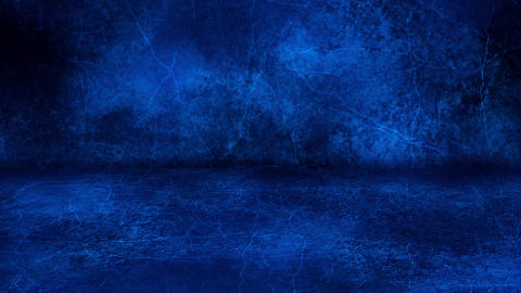 Blue Grunge Wall and Floor Loopable Intro Background Animation
