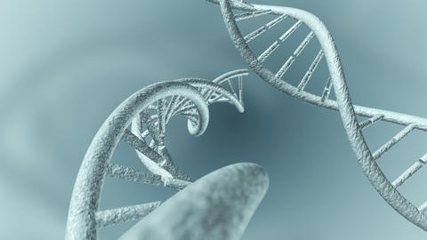 Animation of genetic DNA Animation
