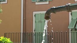 France Cote d'Azur Villefranche sur Mer public water faucet in city center Archivo
