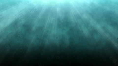 Animated catfish in clear blue water Stock Video Footage