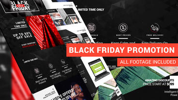 Black Friday - Online Shop Promo After Effects Template