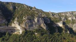 Soaring Above the Gorges du Tarn Landscape Archivo