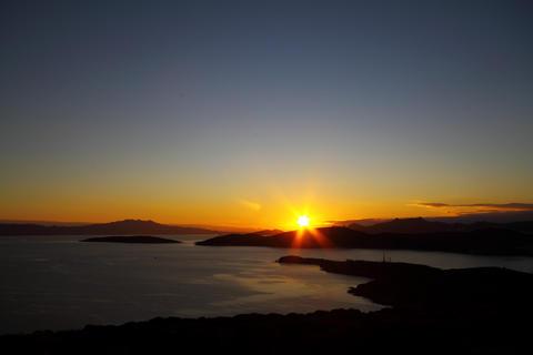 Sunset At Bodrum Fotografía