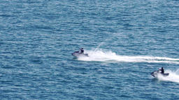 Fast jetski riding Archivo