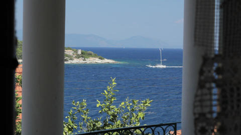 POV of the Mediterranean, Looking out through windows 영상물