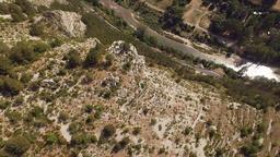 Gorges du Tarn Terrain Overhead Aerial Live Action