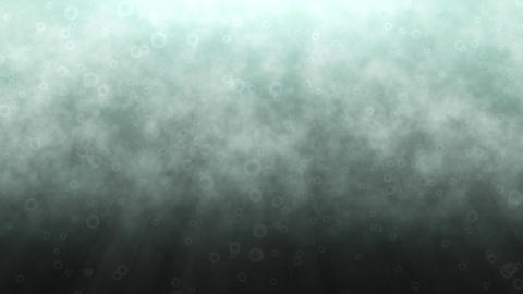 Animation of underwater sea bubbles Animation