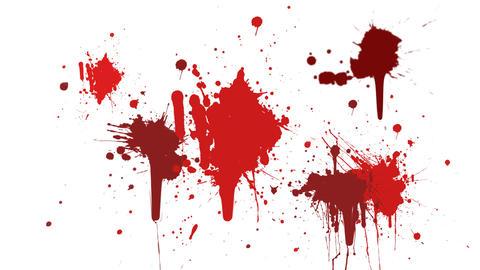 Blood splatter Animation