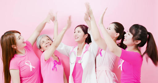 women with breast cancer prevention Footage
