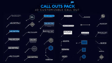 Call Out Pack After Effects Template